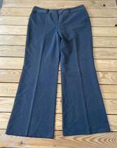 dressbarn women's wide leg dress pants size 10 grey - $18.71