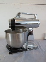 Vintage Hamilton Beach Scovill Multi Speed Stainless Stand Mixer Mixing ... - $78.24