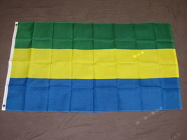 GABON FLAG 3X5 WEST AFRICA LARGE BANNER BRAND NEW F864 - $6.89