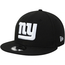 New York Giants New Era 9Fifty Black White Adjustable Snapback Hat NFL - $31.67