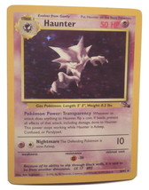 Pokemon Card - Haunter - (6/62) 1999 Wizards TCG Fossil Set Rare Holo **... - $8.99