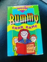 Vintage Creative Child Games Rummy Card Game  - $5.93