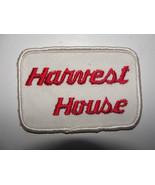 HARVEST HOUSE,DESTINATION,travel destination collectible   OLD PATCH EMBLEM - $2.84