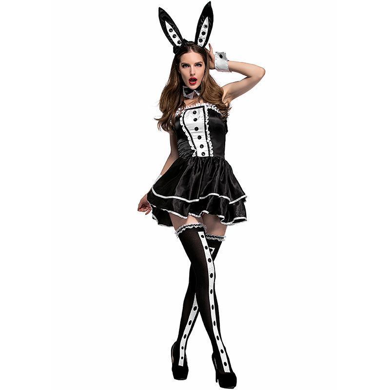 Onderland rabbit costume cosplay adult women halloween bunny cosplay carnival fancy dress outfit