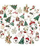 Libiline 38pcs Christmas Pendant Charm for Necklace Bracelet Jewelry Mak... - $28.99