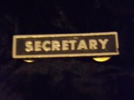 biker club pins, treasurer, vice pres., secretary. - $14.99