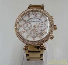 MICHAEL KORS Quartz analog wristwatch Chronograph MK-5491 F/S  Very Good From JP - $235.12