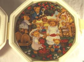 Franklin Mint Teddy Bear Orchard Porcelain Collector Plate W Coa # HA1615 - $16.45