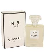 Chanel No.5 L'Eau Perfume 3.4 oz. Eau De Toilette Spray New! Women's Fra... - $199.95