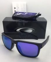 JULIAN WILSON Oakley Sunglasses HOLBROOK OO9102-26 Matte Black w/Violet ... - $169.95