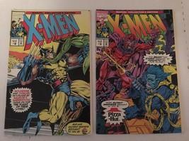 X-Men #2 & 3 Pizza Hut Marvel Comic Book Lot 1993 FN+ Condition - $4.99