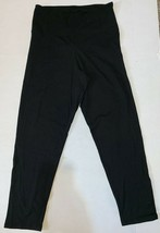 Victoria's Secret PINK Yoga Black Yoga Pants Large  - $29.39