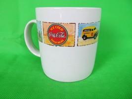 Coffee Cup Mug Coca Cola Coke Vintage Car General Store Gibson - $19.95