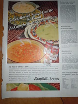 Vintage Campbell's Soups Can Be So Good Print Magazine Advertisements 1937 - $4.99