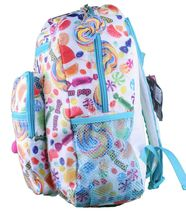 """NEW Girls Youth Kids YPC Yum Pop Candy Candies Scented 13"""" Backpack Schoolbag image 3"""