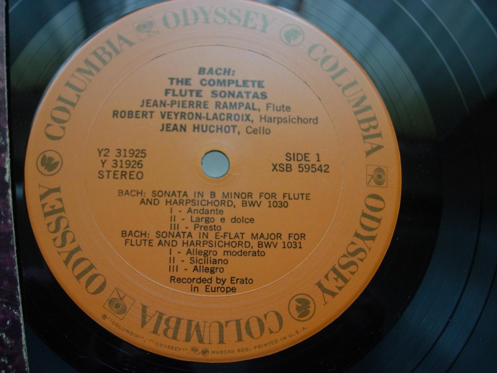 Jean-Pierre Rampal & Robert Veyron-Lacroix - Columbia Records XSB 59542