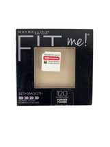 Maybelline New York Fit Me! Finishing Pressed Powder & Mirror #120 Class... - $4.99