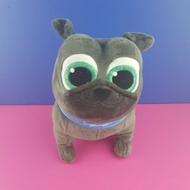 "Disney Store Puppy Dog Pals Bingo Plush Bulldog Blue Gray Big Eyes 10"" S... - $20.79"