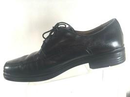 Florsheim Mens Size 12 D Oxfords Comfortech Black leather Dress shoes - $39.87