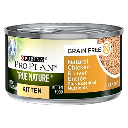 Primary image for Purina Pro Plan Grain Free, Natural Pate Wet Kitten Food, TRUE NATURE Chicken &