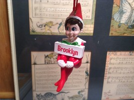 Dept 56 - Elf on the Shelf - Elf named Brooklyn Christmas Ornament