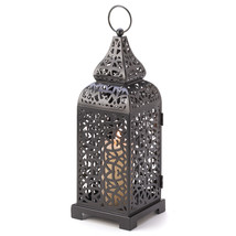 Moroccan Tower Candle Lantern 10013176 - $20.41