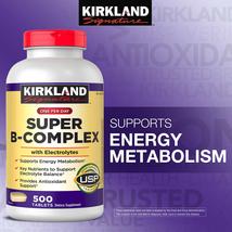 Kirkland Signature Super B-Complex with Electrolytes, 500 Tablets - $21.99