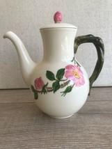 "Franciscan Desert Rose Tall Teapot California Mark w/ Lid 9"" - $128.69"