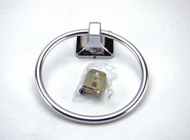 Franklin Brass D2416PC Futura Bath Hardware Accessory Towel Ring Polishe... - $1.95