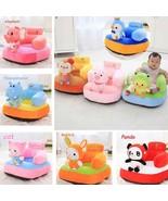 Baby Seat Sofa Plush Toy Cute Soft Stuffed Animal Kid Infant Sit Back Su... - $43.65