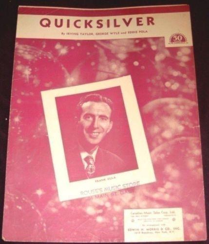 Quicksilver Sheet Music