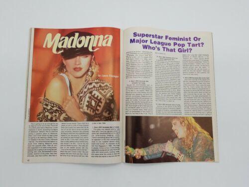 Creem Magazine Hitmakers Women Rockers of the 80s Madonna Witney Houston Bangles image 6