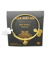 Alex and Ani Sea Shell II Bangle Bracelet Gold NWT Beach summer bracelet... - £15.11 GBP