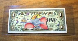 2005 Disney Dollar - DUMBO - NO BARCODE - Mint Condition - D Series - $24.69
