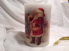 Flameless Christmas Santa Candle