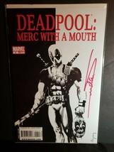 Deadpool Merc With a Mouth Signed Arthur Suydam Comic Book #4 Scarface H... - $49.50