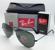 Polarized RAY-BAN Sunglasses RB 3647-N 002/58 51-22 Black Frames w/ Grey... - $214.95