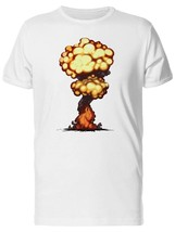 An item in the Fashion category: Smoke Explosion Mushroom Men's Tee -Image by Shutterstock