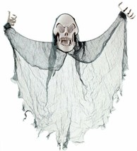 Clear Stone Halloween Floating Skeleton Costume FREE shipping Worldwide - $41.63