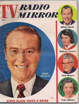 ORIGINAL Vintage November 1954 TV Radio Mirror Magazine Ralph Edwards  - $18.51