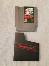 Nintendo NES SUPER MARIO BROS. Game Cartridge & Dust Sleeve Tested Works... - $26.95