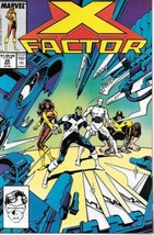 X-Factor Comic Book #28 Marvel Comics 1988 Fine+ New Unread - $1.75