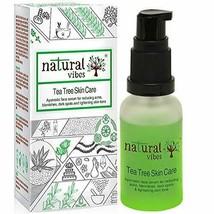 Natural Vibes Ayurvedic Tea Tree Skin Repair Serum, 30ml for face No Par... - $24.00