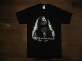 Dimebag Darrell - Up Close- Two Sided Print-Unisex T-Shirt.Brand New - $17.99