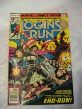 logans run #5 very good to fine condition 1976 marvel comics - £3.20 GBP