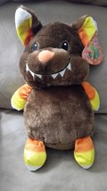 "Halloween 2017 Rat Candy Corn Brown New Plush Stuffed Animal 11"" Sugar Loaf - $9.99"