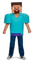 Steve Classic Minecraft Costume, Multicolor, Medium (7-8) - $45.97