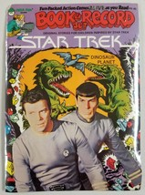 "Star Trek 1979 Peter Pan Book & Record Set Brand New ""Dinosaur Planet"" - $19.58"