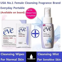 NEW SUMMER'S EVE FEMININE CLEANSING WIPES 16Pcs / CLEANSING MIST 59ml Se... - $14.50+