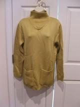 new/pkg NEWPORT NEWS  CITRON funnel neck long leggings sweater  medium - $14.10
